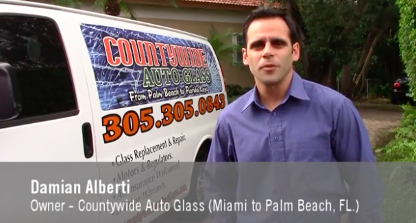 Damian Alberti owner of Countywide Auto Glass
